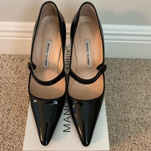 Manolo Blahnik Campari Mary Jane size 9 (39)